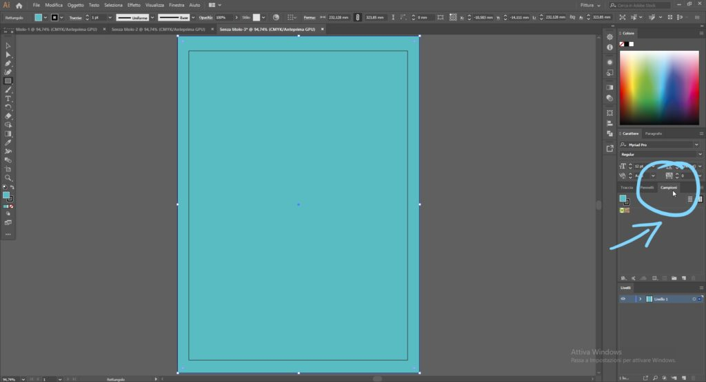 come usare i pattern in Illustrator 3
